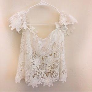 ASTR lace top